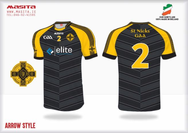 Image: St Nick's GAA Bristol match kit