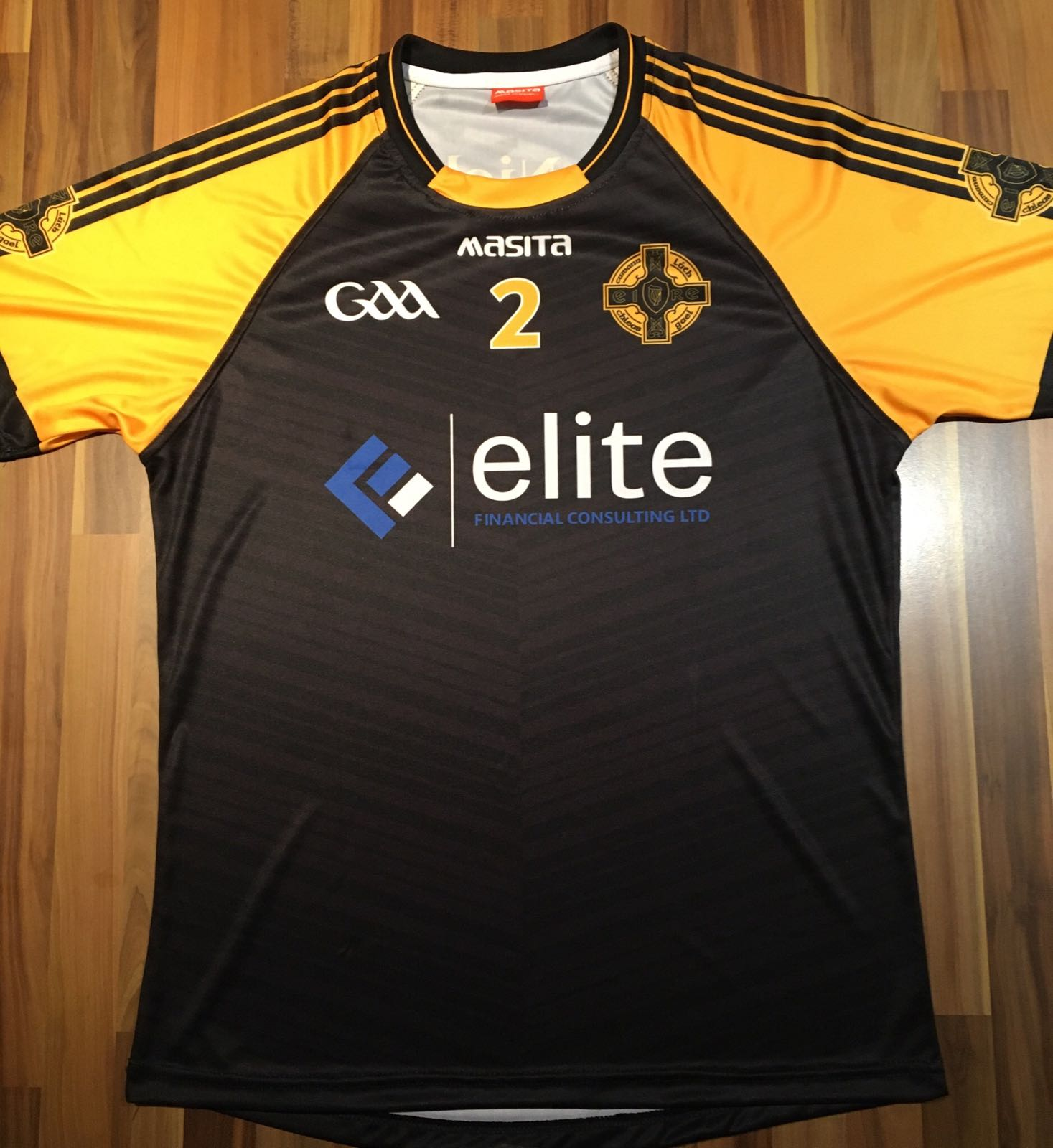 Image link:St Nicks GAA Bristol new kit 2018