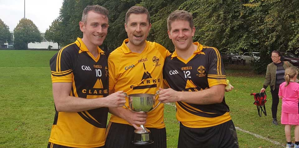 Image: Cup winners, St Nick's GAA, Bristol